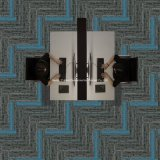 CFN-a1E-2021 Newly Design Multi-Level Loop Tufted Commercial Modular Carpet Tile