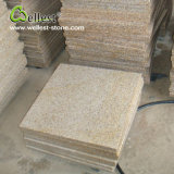 G682 Sunset Yellow Beige Granite Floor Tile Paving Stone