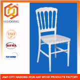 Wholesale High Quality White Color Polycarbonate Resin Napoleon Chair