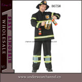 Carnival Popular Style Fascinating Sexy Fireman Costume (8675)