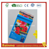 Wooden Color Pencil for School Stationery