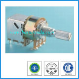 16mm Rotary Potentiometers with Push Pull Switch for Guitars Audio Equipment