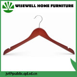 Wood Top Suit Hanger Without Bar (WHG-A05)