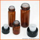 5ml 10ml Glass Oil Bottle Amber Bottles with Orifice Reducer Caps