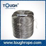 Grey Color Winch Cable Alternatives Synthetic Winch Rope Accessories