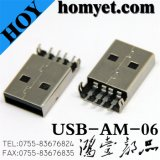 High Quality USB Connector/USB Jack for Electric Accessories (USB-AM-06)