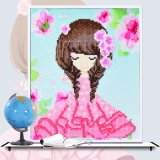 Factory Cheapest Wholesale New Children Kids DIY Embroidery Craft Diamond Painting K-009