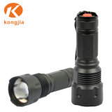 Wholesale High Power Aluminum Salable LED Lamp Rechargeable Zoomable Flashlight