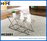 Modern Home Furniture Round Dining Table with Marble (HC2305)