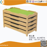 Kindergarten Wooden Bed for Children