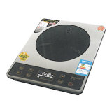 Tecworld Super Induction Cooker 2000W Stainless Steel Shell Zero Radiation Water Proof Design