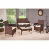 Wicker Sofa Set Garden Rattan Sofa Patio Outdoor Chair and Table