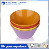 Custom Logo Multicolor Melamine Food Soup Bowl