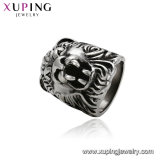 15499 Xuping Wholesale Unique Jewelry Black Gun Color Tiger Finger Ring
