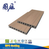 Anti-UV Wood Grain Wood Plastic Composite WPC Decking Board 145*21mm
