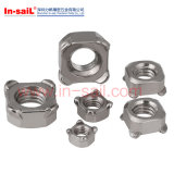 DIN928 DIN929 Hexagon Weld Nuts Square Caged Nuts Spot-Weld Nuts