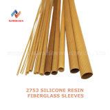 2753 Flexible Silicone Rubber Fiberglass Braided Sleeve