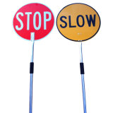 Custom Reflective Aluminum Stop Slow Safety Traffic Road Sign