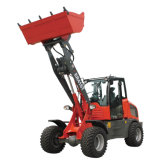 Everun New Design China 1.6 Ton Er416t Small Mini Compact Farm and Construction Front End Wheel Loader with Euro 5 Engine Ce 4WD Shovel Bucket Loader for Sale