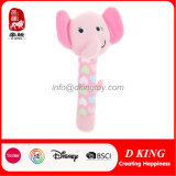 Custom Stuffed Hand Bell Plush Toy Wholesale Manufacturer for Baby