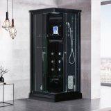 Luxory Bathroom Sanitary Ware 90cm Black Steam Sauna Room