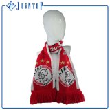 Good Quanlity Polyester Stripe Acrylic Knitted Scarf