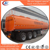 3-Axels 50 Cubic Meters New Fuel Oil Tank Semi Trailer Price