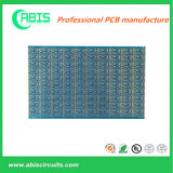 "Multi Layers Electronics PCB Printed Circuits Board Made of Fr4 Tg150 with 2 U"" Enig in Blue Ink"