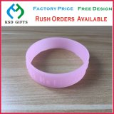 Glow in Dark Customized Promotion Bulk Qty Price Silicon/Silicone Wrist Band