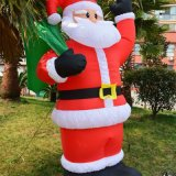 200cm H Inflatable Santa Claus Display for Xmax