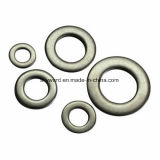 DIN125 Carbon Steel Yellow Zinc Plated Flat Washers