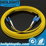 Fiber Optical Patchcord Sc to LC Sm 2.0mm Duplex