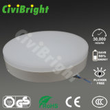 Warm White 24W Ceiling Lights, Round Flat LED Ceiling Lamp