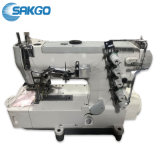 Sk-500 3 Needles and 5 Threads High-Speed Interlock Industrial Sewing Machine