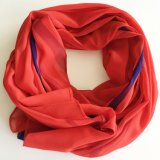Wholesales Polyester Fashion Women′s Stylish Polyester Scarf Flaral Colorful Lady Scarf (SC015)