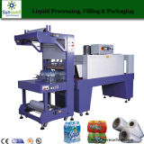 Film Automatic Shrink Wrap Machine for Small Bottles and Cans
