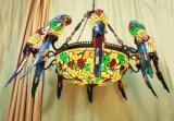 Art Tiffany Big Ceiling Lamp