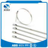 Self Locking Stainless Steel Metal Cable Zip Ties Uncoated
