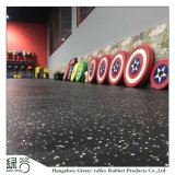 Factory Customized High Density Gym Gravity Zone Rubber Flooring Mat/Fitness Protective Flooring Recycle Rubber Mats