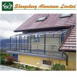 Fashionable Aluminum Sunroom/ Glass House with Different Colors