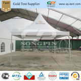 5X5m Pavilion Canopy Pagoda Tent with Printing for Exhibition Booth Used