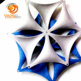 Polyester Fiber Snow Pieces 3D Product for Office Window Decor