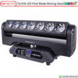 Gbr-Bl741A 7X15W RGBW 4in1 LED Pixel Blade Moving Head Beam Light