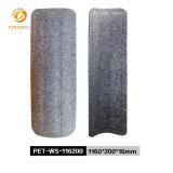Seasame Black Soundproof Workstation Screen Partition Polyester Fiber Acoustic Panels