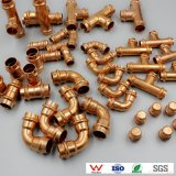 Copper V-Profile Press Fittings Series Elbow Tee Coupling Caps Cross Plumbing Pipe