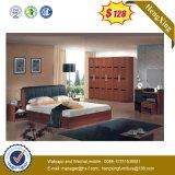 Modern Hotel Home Wooden Bedroom Living Room Furniture Double Single Children King Queen Bed (HX-L8802)