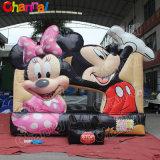 2020 Cheap Lovely Mouse Bouncy Jumping Castle for Kids Chb375