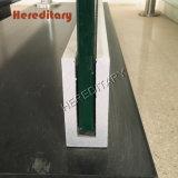 Aluminum / Steel U Channel Frameless Glass Railing for Balcony Building Material