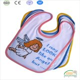 New Design Angel Printing High Quality Baby Bib Wholesale