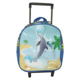 Cute Student Child Wheel School Trolley Bag